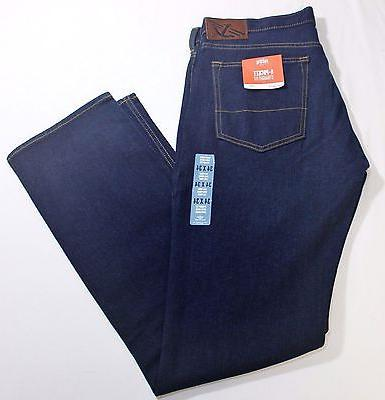 "New Men Dockers ""5- Pocket"" Straight Fit Flat Front Dark Nav"