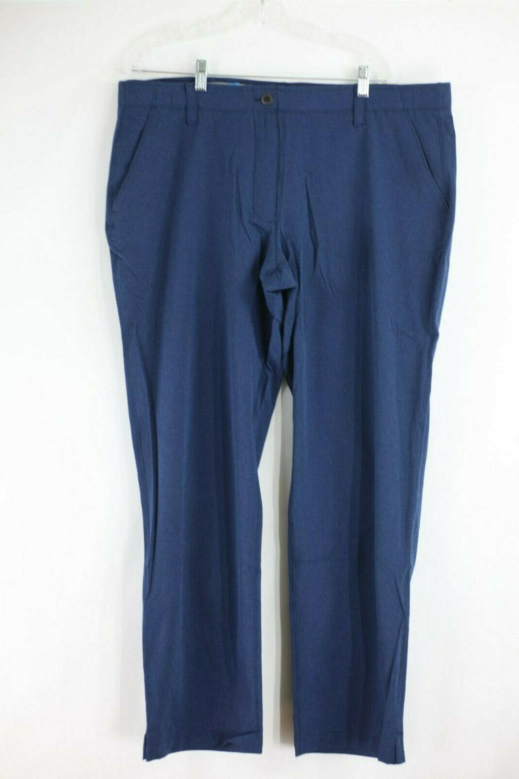 NEW Under Armour Men's Loose Vented Pants Navy Blue Size 42x32