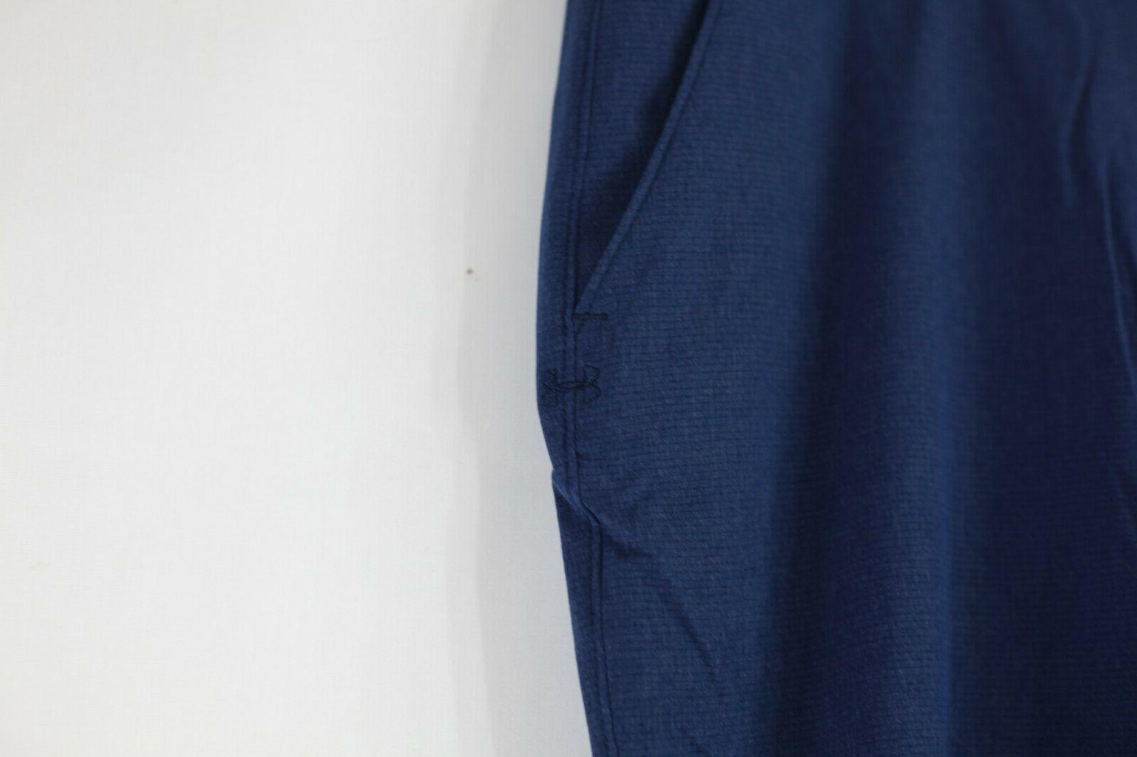 NEW Men's Loose Vented Pants Navy Blue Size 42x32