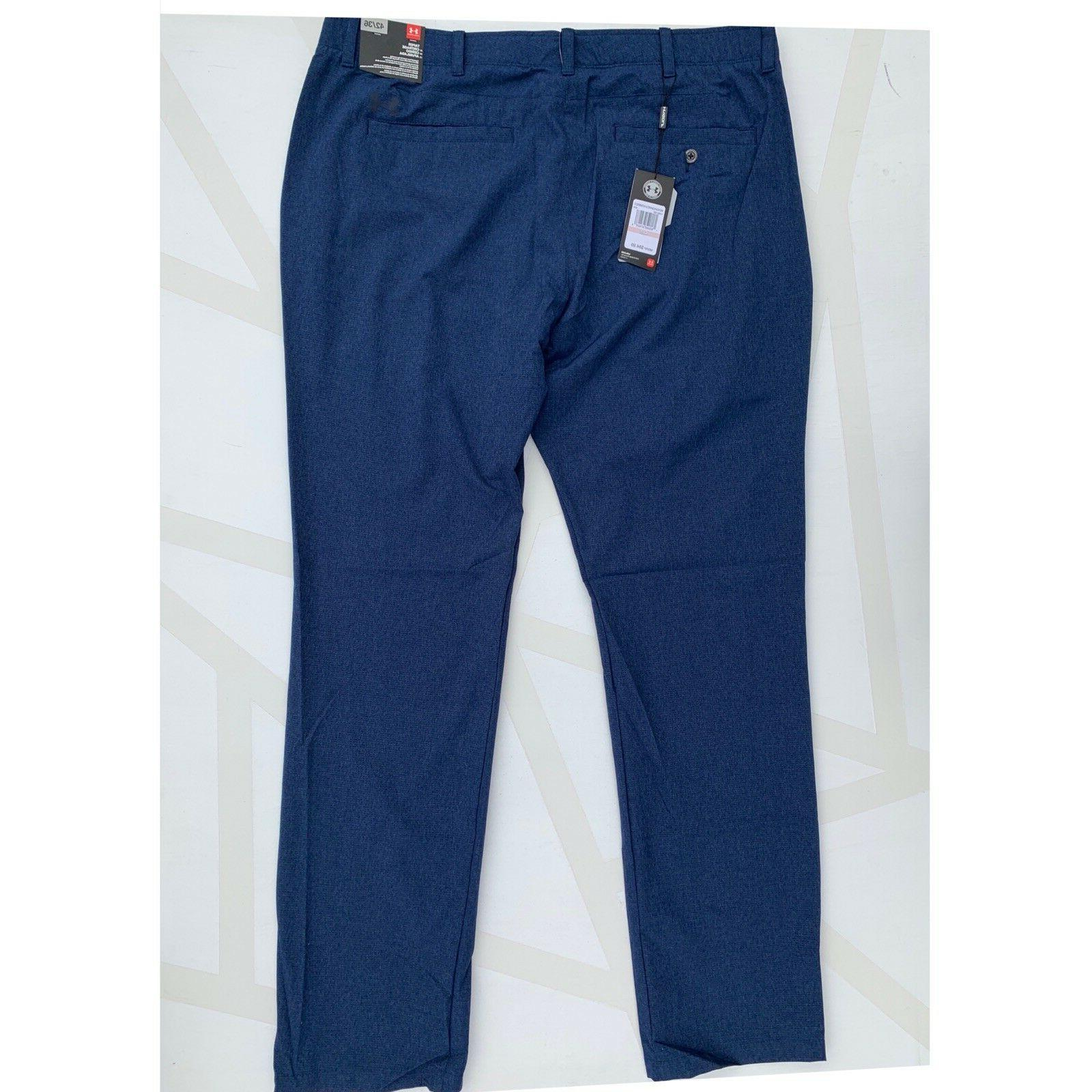 NEW Under Size Loose Fit Match Play Pants Navy Blue