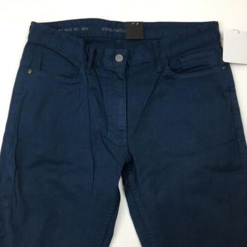 NEW Calvin Klein Slim Straight Leg Jeans Black Blue Gray