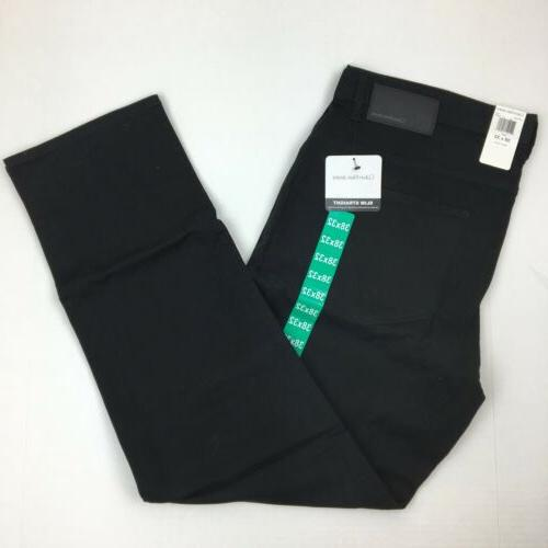 NEW Calvin Slim Leg Jeans Black Beige