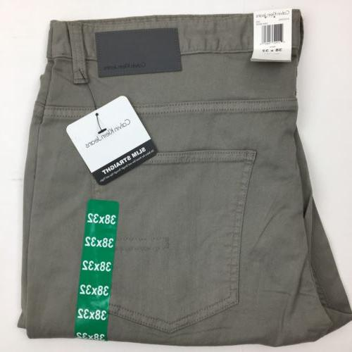 NEW Men's Klein Slim Jeans Black