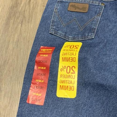 New Cowboy cut slim Western Denim jeans 36MWZDS