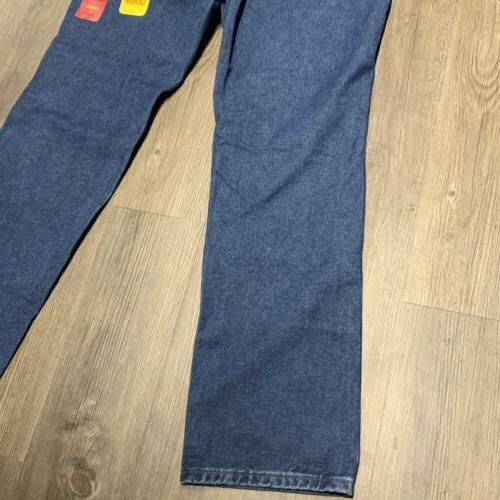 New 36x32 Cowboy slim fit Western Denim jeans Pants 36MWZDS