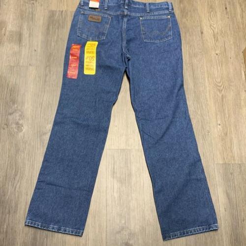 new mens 36x32 cowboy cut slim fit
