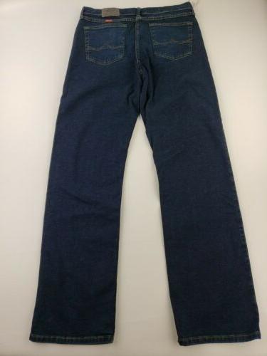 NEW Wrangler Mens Jeans Five Star Fit | Size | Dark