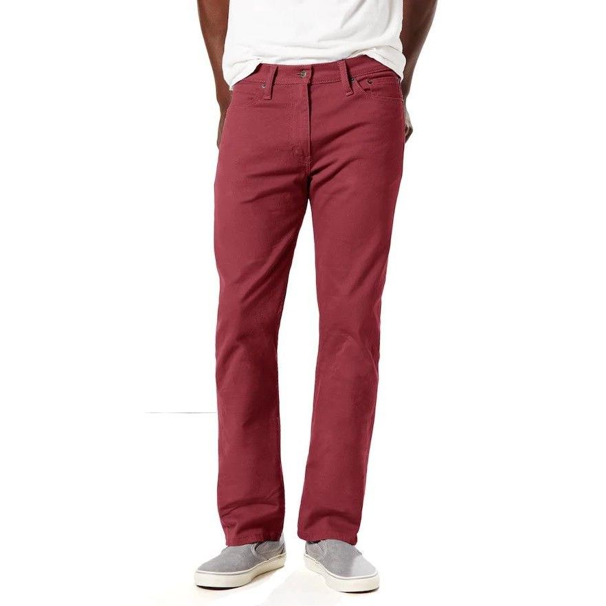 New Mens Levi's 513 Slim Straight Jeans Priority Ship many c