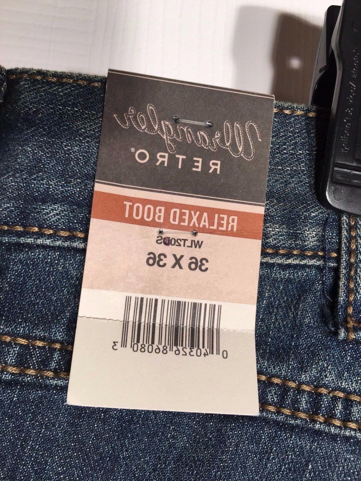 NEW Relaxed Fit Dusk Stitch Denim WLT20DS