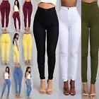 New Women Casual Skinny Leg Jeggings Pencil Pants Stretchy J