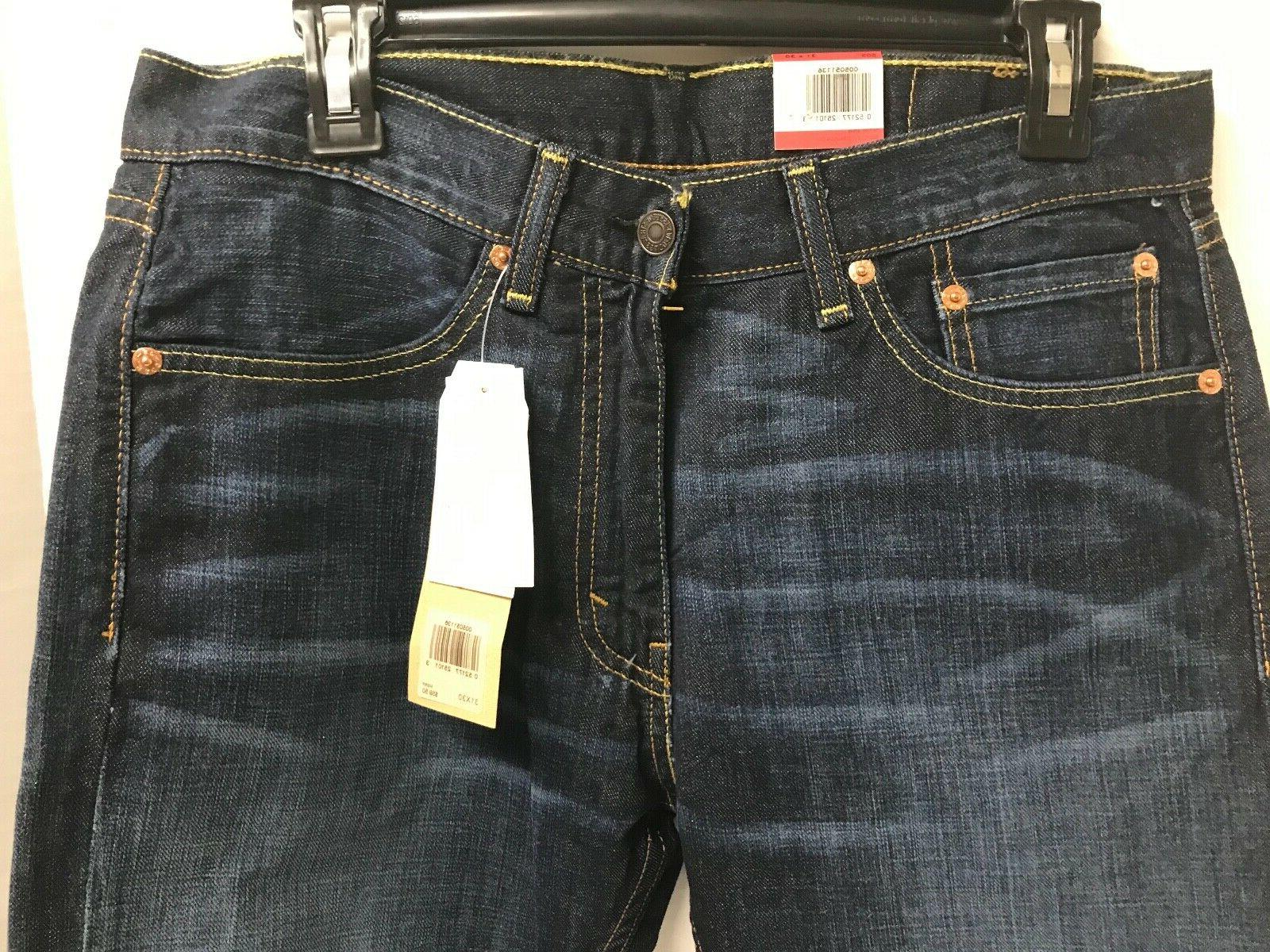 NWT Authentic Levis Regular Blue Non Stretch W/