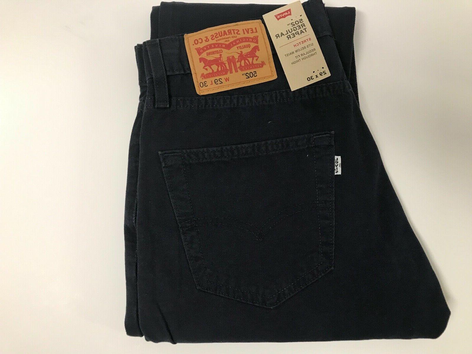 NWT*Close 502 Regular Taper Light Weight Dark Blue Stretch Jeans