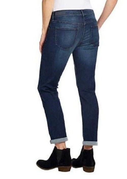 NWT Calvin Klein Jeans Slim Boyfriend Denim Pants Women's 12