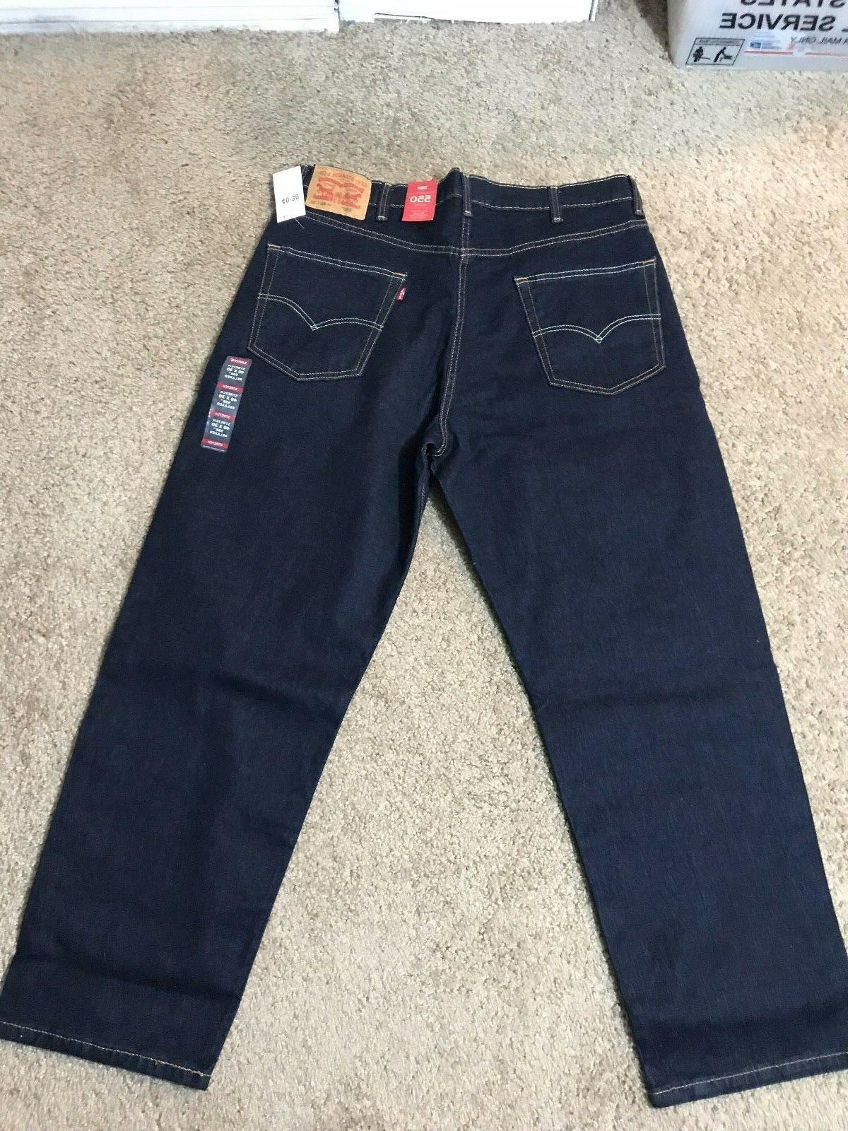 NWT Levi's Relaxed Fit Blue Jeans