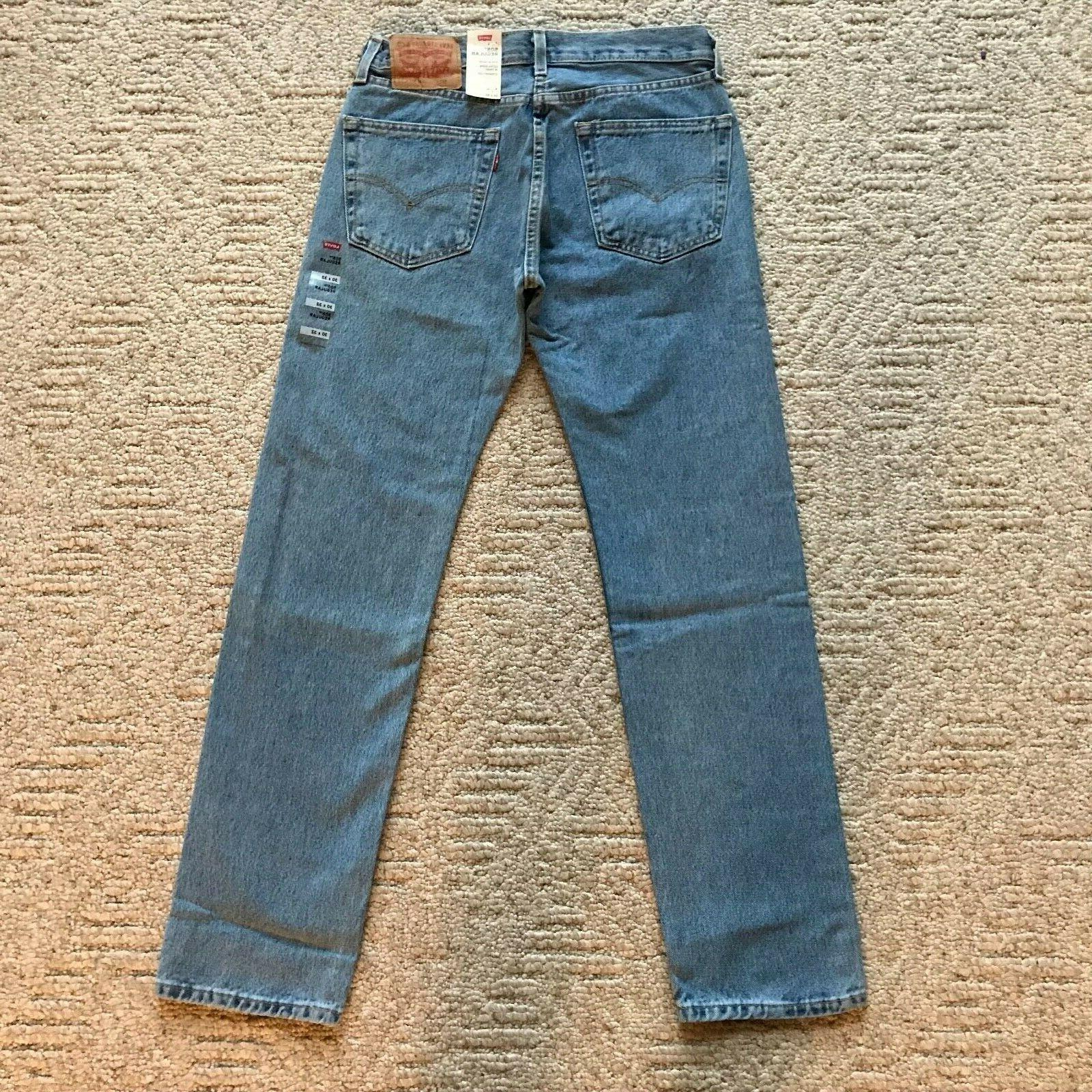 NWT Levi's Men's Classic Regular Leg Denim Jeans All