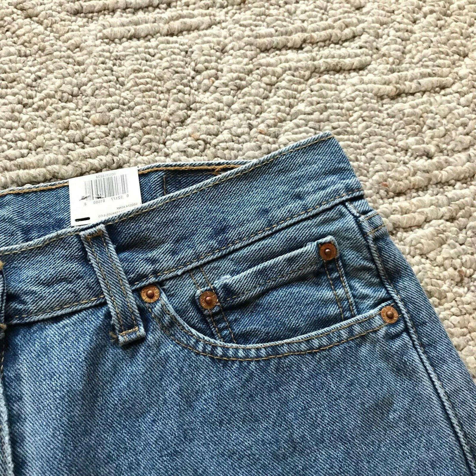 NWT Levi's Classic Regular Straight Leg Denim Jeans All size