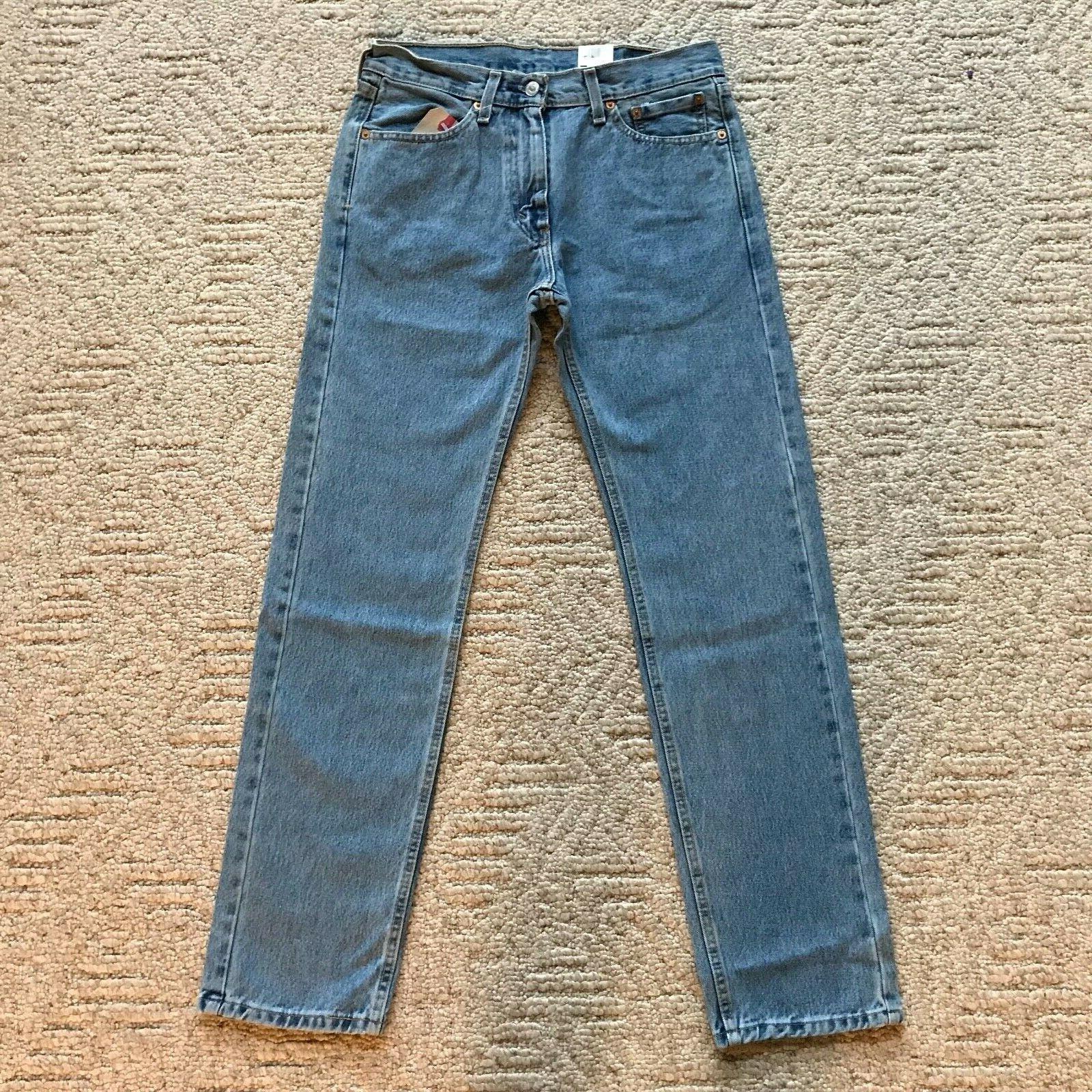 NWT Classic Regular Fit Straight Leg Denim Jeans All size
