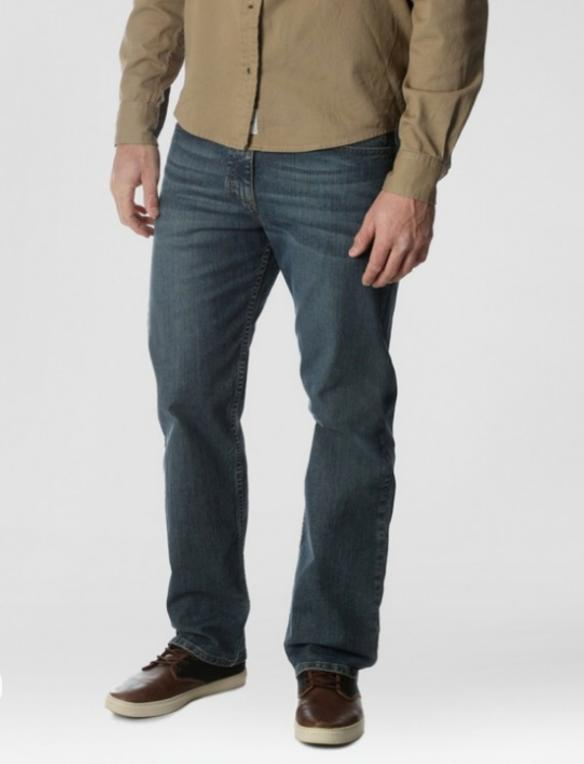 nwt men relaxed straight performance series jean