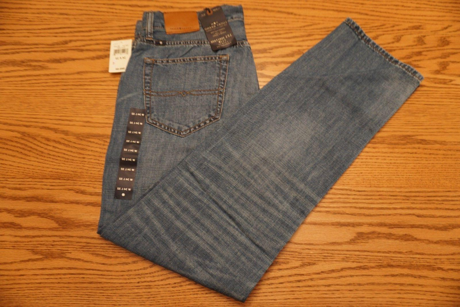 NWT MEN'S LUCKY BRAND JEANS 121 Multiple Sizes Heritage Slim