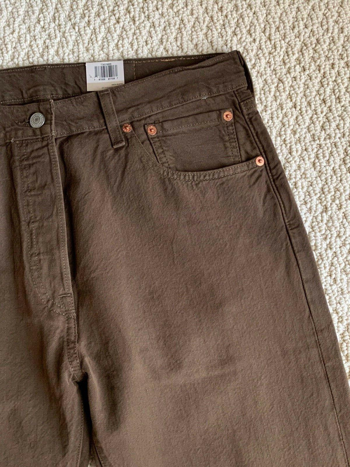 NWT Original Brown Straight 32