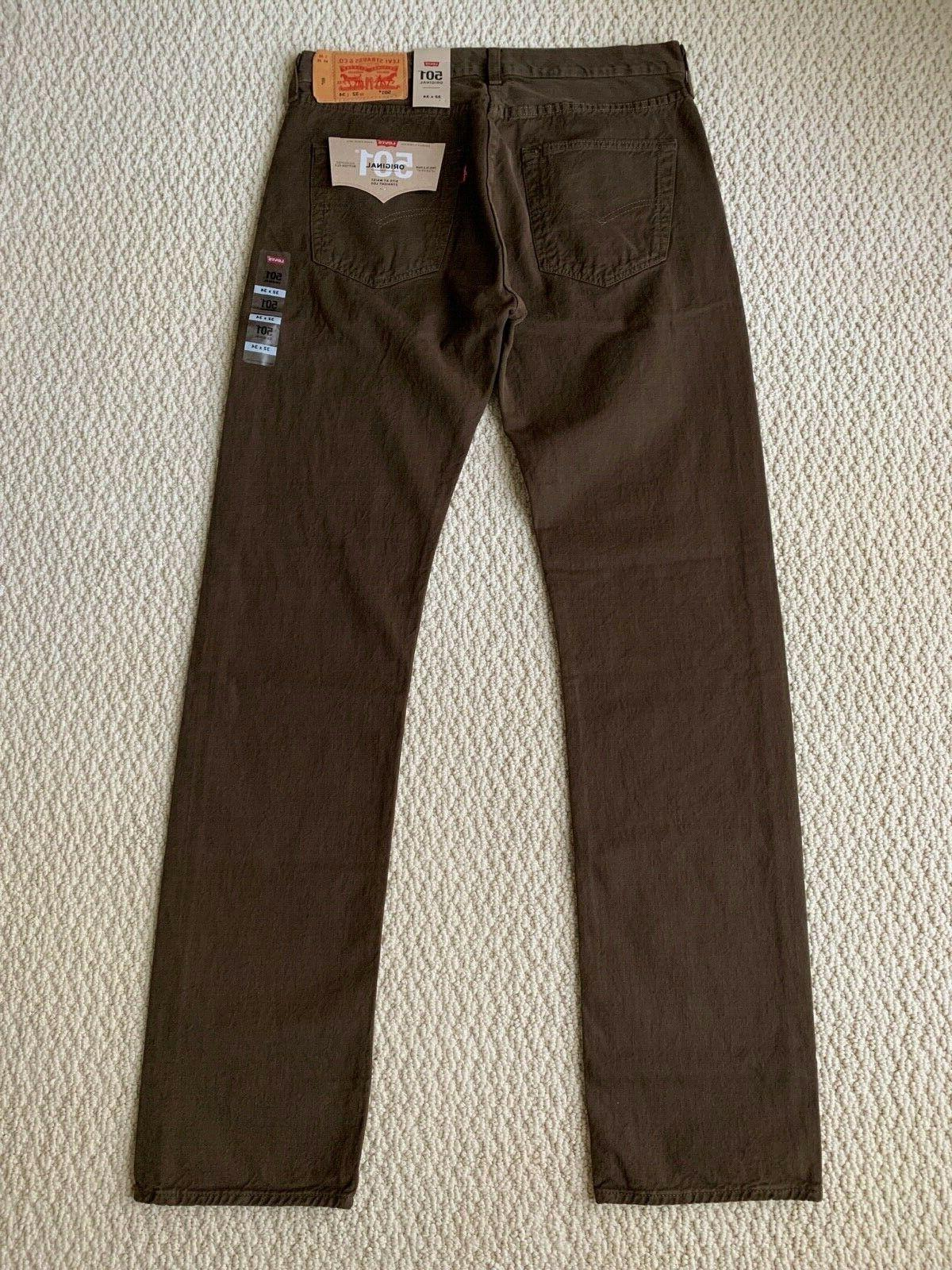 NWT Men's Levi's Original Denim Straight Leg Jeans SIZE 32