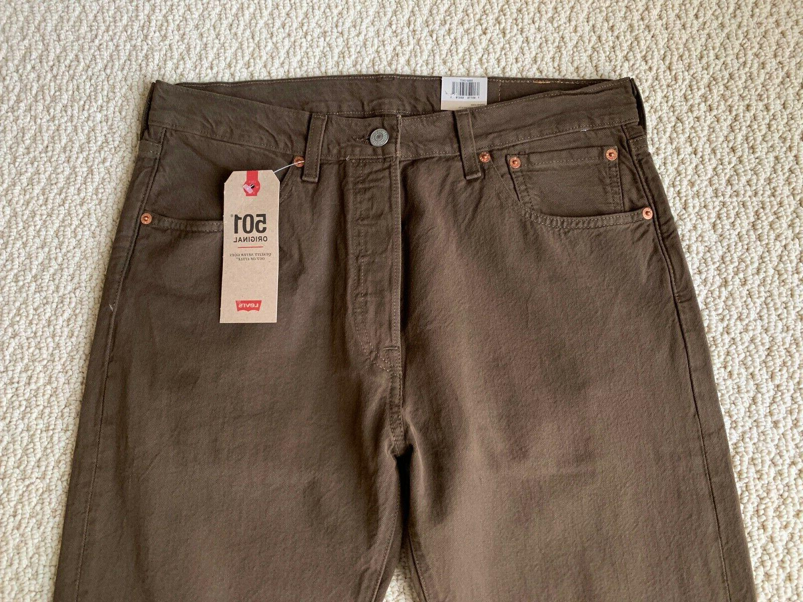 NWT Men's Original Fit Straight Leg 32 33x34