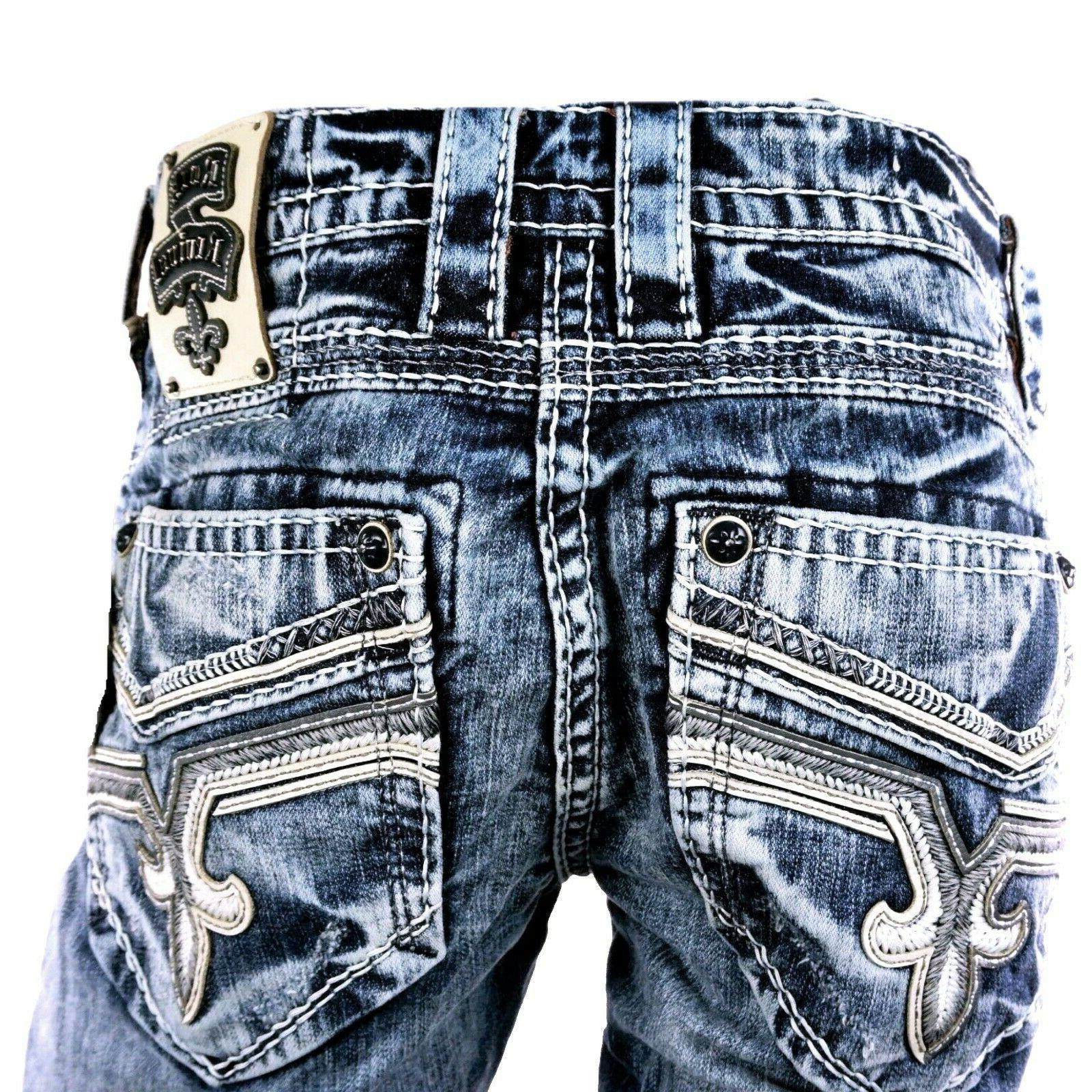 *NWT Revival Mens Straight Jeans - 32 34 40