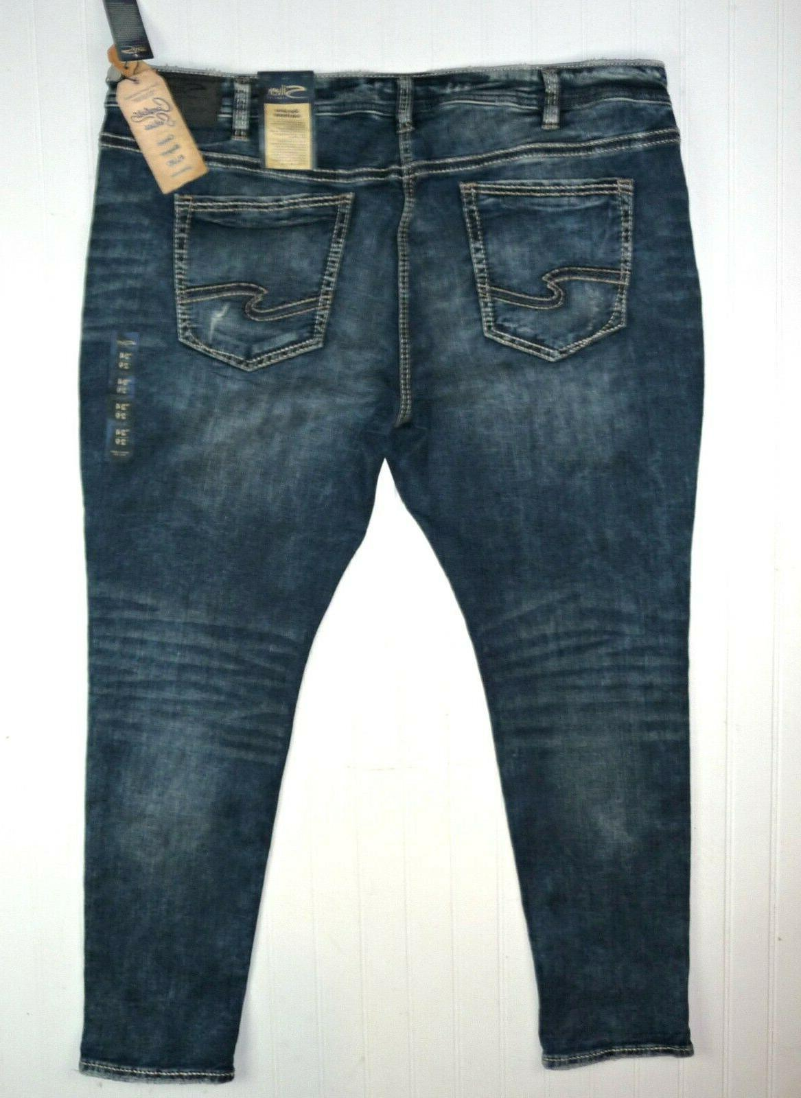 NWT Silver Jeans Style Series Girlfriend Super Stretch Plus