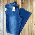 NWT Women's Gap 1969 Perfect Boot Jeans Size 34L Long Tall M