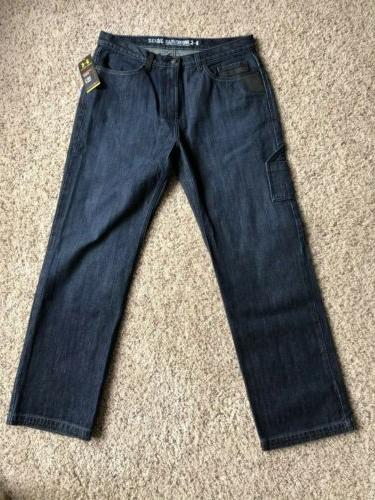 NWT UNDER Jeans Leather Accent