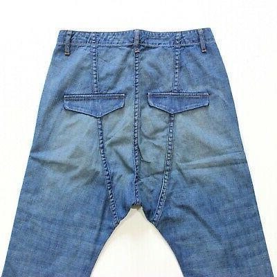 Nili Lotan Jeans Crop Drop Crotch 25 Women's