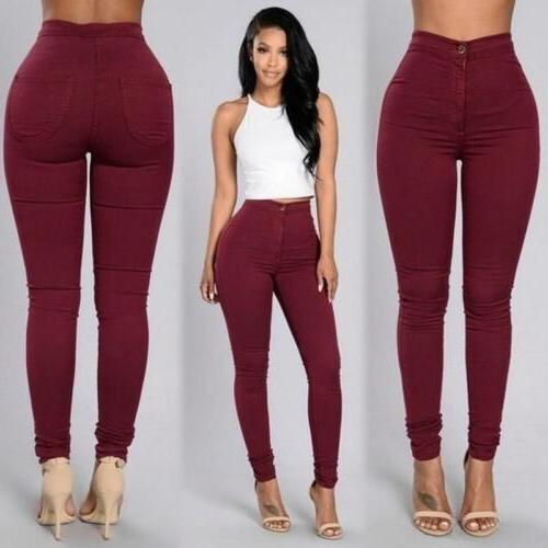 Pencil Women Pants High US