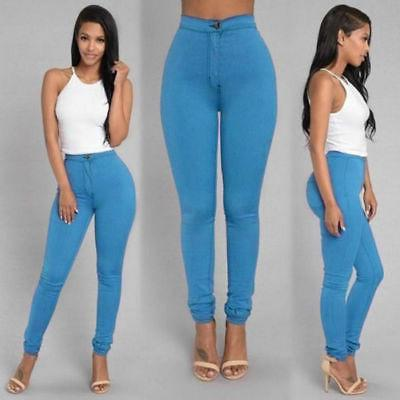 Pencil Jeans Women Lady Stretch US