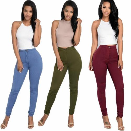 Pencil Stretch Casual Pants US