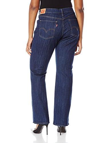 Levi's Plus-Size Classic Bootcut Rider, 36 R