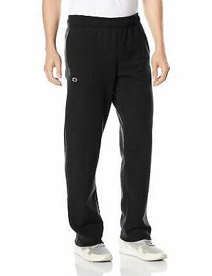 powerblend sweats open bottom pants