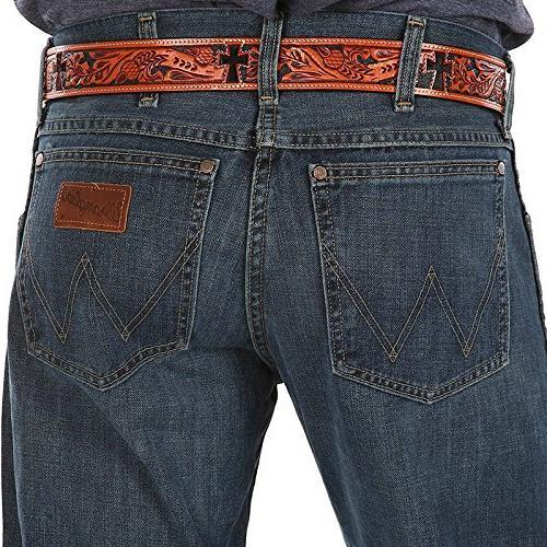 Wrangler Men's Retro Slim Fit Boot Cut Jean, River 32x32