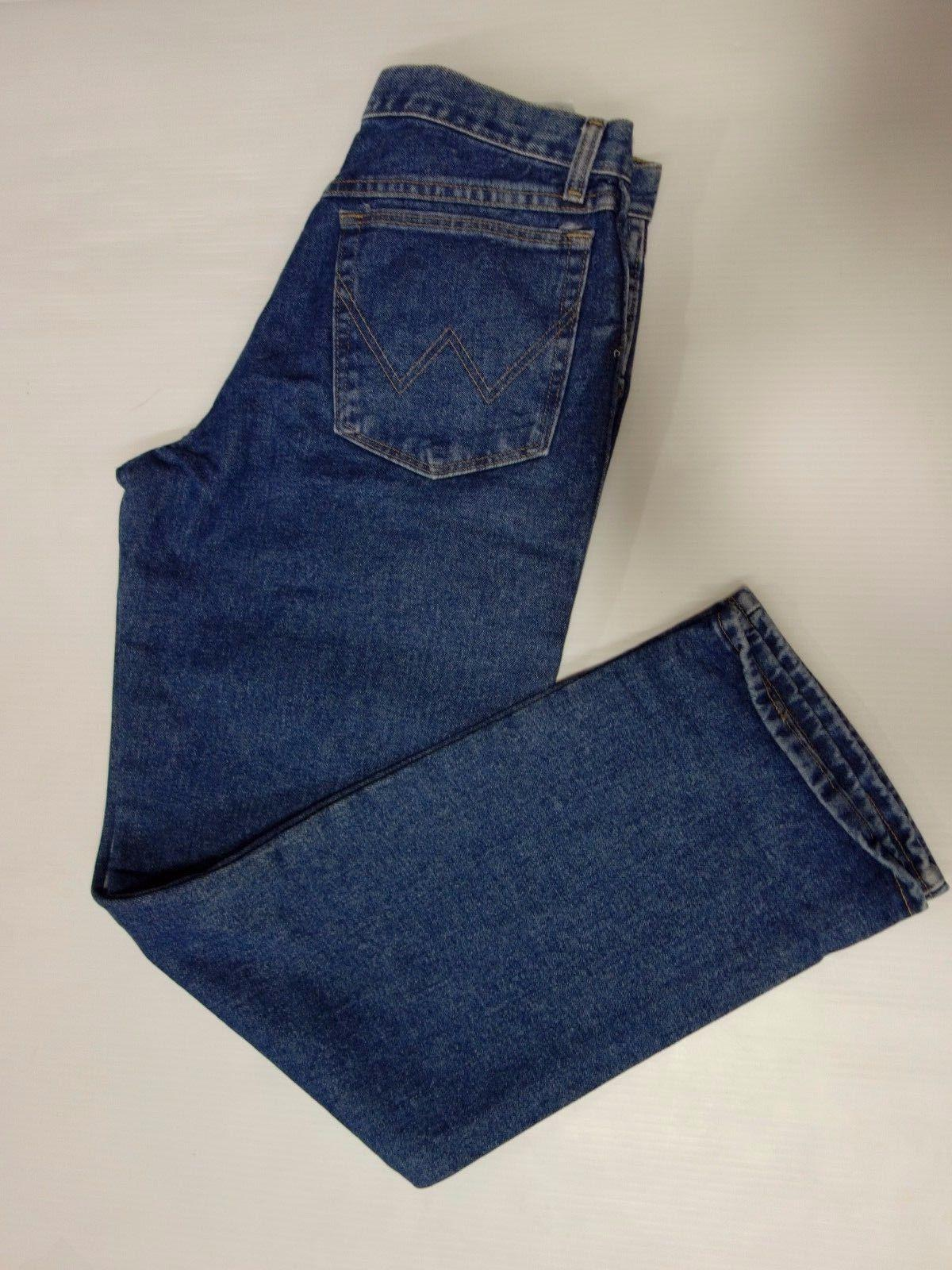 Wrangler Men's Rugged Wear Relaxed Fit ,Vintage Indigo,34x32