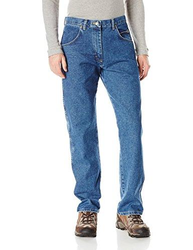 Wrangler Men's Rugged Wear Relaxed Fit Jean ,Vintage Indigo,