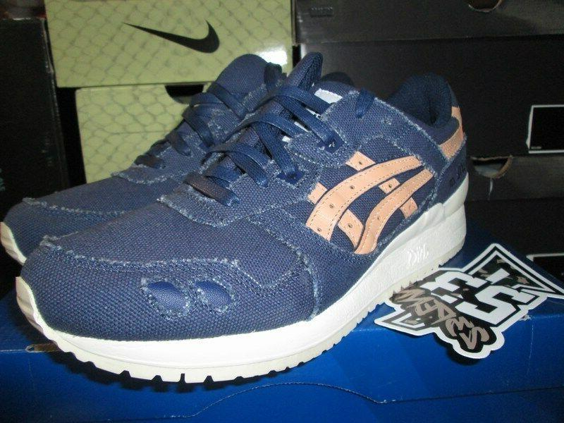 sale gel lyte iii 3 tan indigo