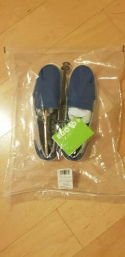 Crocs Size 9 BLUE JEAN/LIGHT GREY LOAFER  Standard Fit Loafe