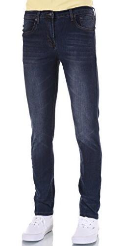 Eagle Men Skinny Dark SW Blue Stretch Jeans 30W X 34L