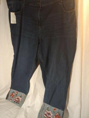 Style Co. Jeans Size 24W Plus Stretch