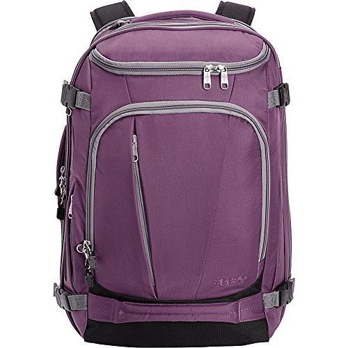 eBags Weekender Convertible Carry-On Travel Backpack Laptop