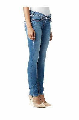 True T Skinny Jeans for Breast Cancer Moonstone