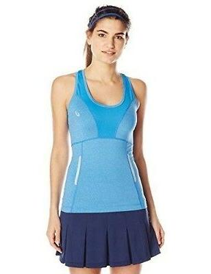 ASICS Women's Fujitrail Sleeveless Tank, Jeans Heather, Medi