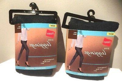 Hanes Women's Jean Leggings - Indigo-SZ Small -New