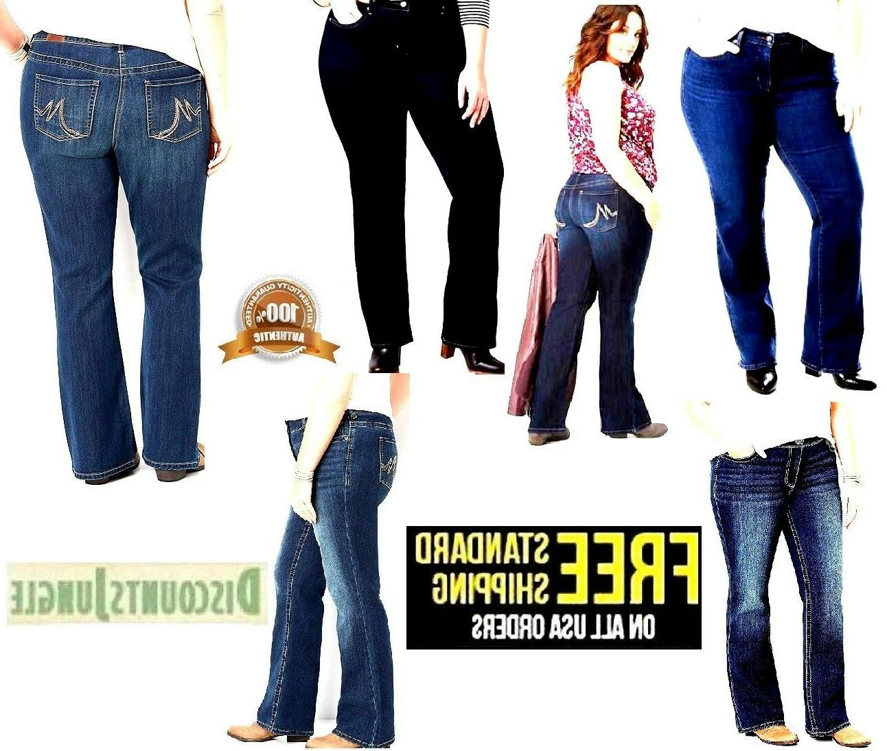 womens plus size petite relaxed fit straight