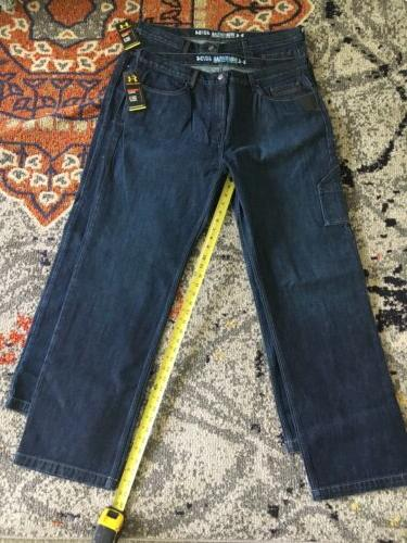 workwear 4034 loose mens work jeans size