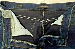 Lee Platinum Label Relaxed Fit Straight Leg Jeans Size 14 Lo